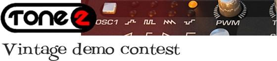 Tone2 Vintage Demo Contest