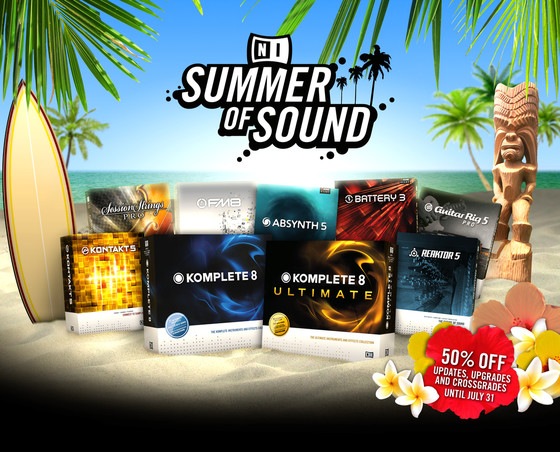Native Instruments Summer of Sound