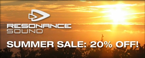 Reasonance Sound Summer Sale