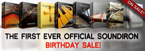 Soundiron Birthday Sale