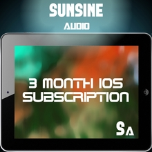 Sunsine Audio Subscription
