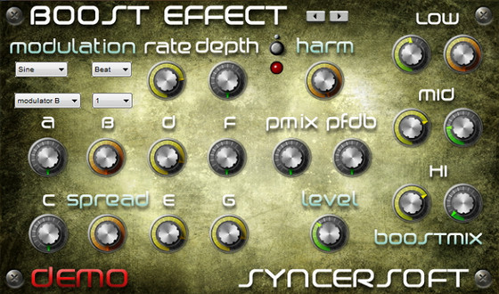 SyncerSoft Boost Effect