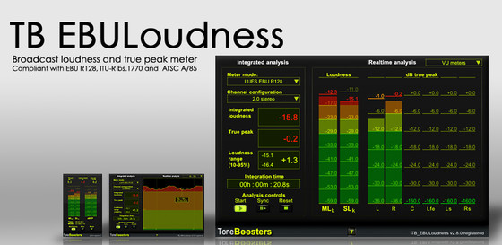 ToneBoosters EBULoudness