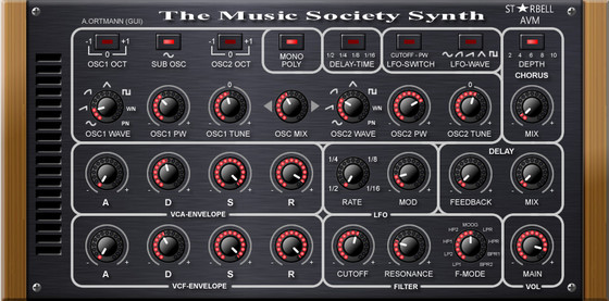The Music Society Synth