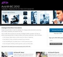 Avid IBC 2012