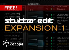 iZotope Stutter Edit Expansion 1