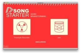 Oscillicious SongStarter