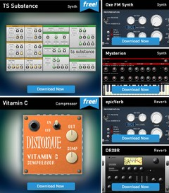 Plugin Boutique Free Plugins Area