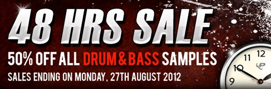Prime Loops 48 Hour Drum & Bass Sale