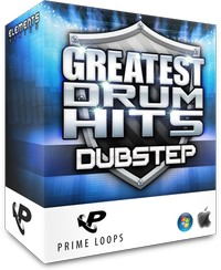 Prime Loops Greatest Drum Hits Dubstep