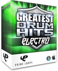 Prime Loops Greatest Drum Hits Electro