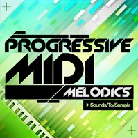 Sounds To Sample Progressive MIDI Melodics