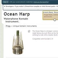 Sampleism Ocean Harp by Pingu