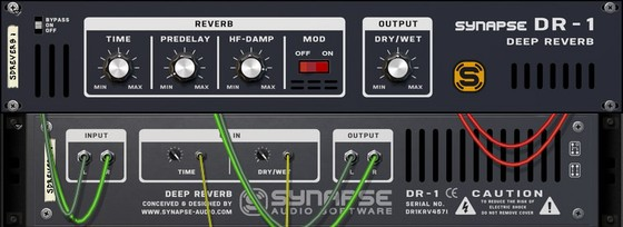 Synapse Audio DR-1 Deep Reverb