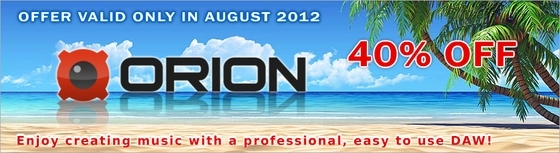 Synapse Audio Orion Summer Sale