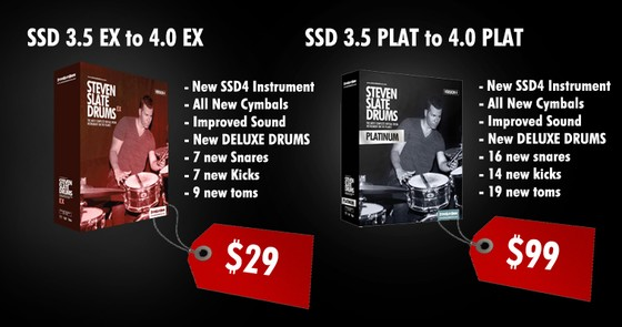 Steven Slate Drums Upgrade Deal