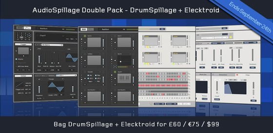 AudioSpillage Double Pack