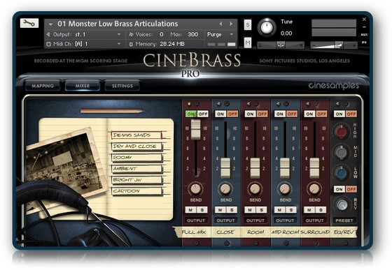 Cinesamples Monster Low Brass