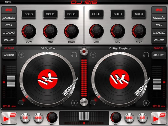 IK Multimedia DJ Rig for iPad
