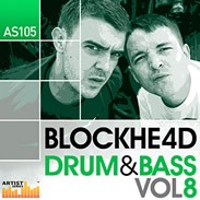 Loopmasters Blockhe4d Drum &amp; Bass Vol 8