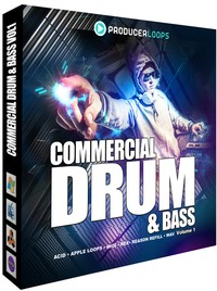 Producer Loops Commercial Drum &amp; Bass Vol 1