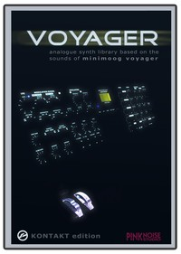 Pink Noise Studio Voyager for Kontakt
