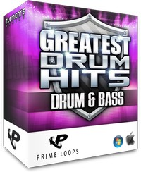 Prime Loops Greatest Drum Hits Drum & Bass