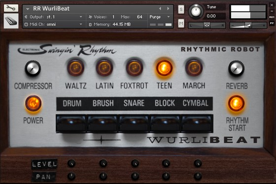 Rhythmic Robot WurliBeat