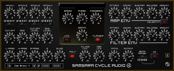 Samsara Cycle Audio Saw