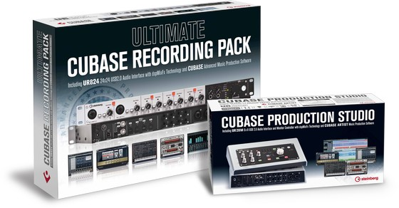 Steinberg Ultimate Cubase Recording Pack & Production Studio