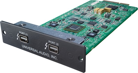Universal Audio Thunderbolt Option Card