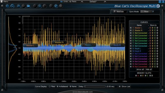 Blue Cat Audio Oscilloscope Multi 2.0