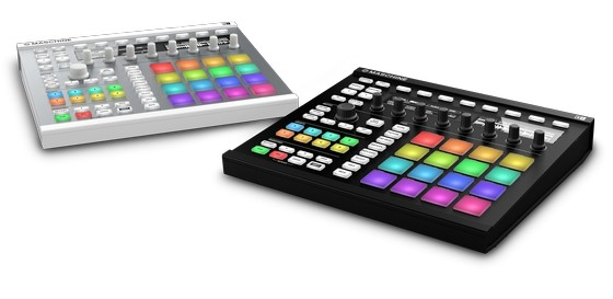 NI Maschine in black and white