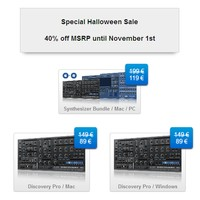 discoDSP Halloween Sale