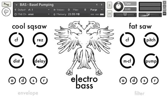 Fingerpushers Electro Bass