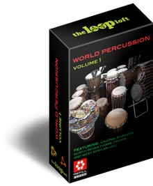 The Loop Loft World Percussion Vol 1