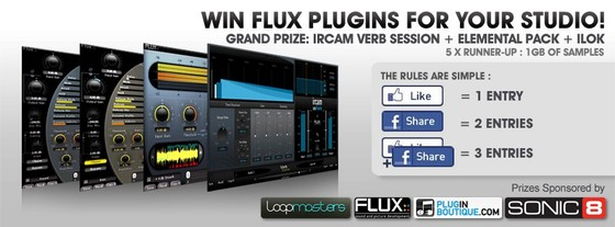 Plugin Boutique Flux contest