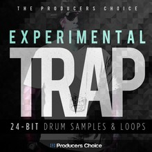 Producers Choice Experimental Trap Drum Kit