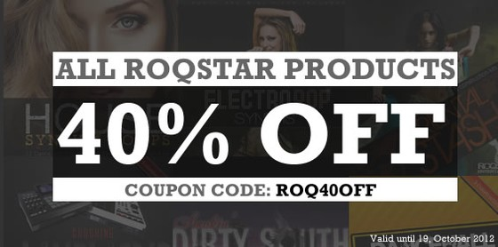 Roqstar 40% off sale