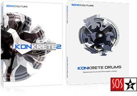 Soniccouture Konkrete Drums 1 & 2