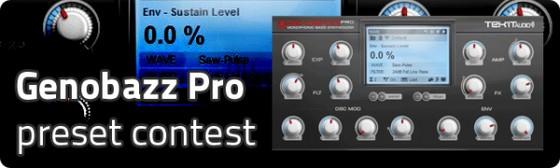 Tekit Audio Genobazz Pro preset contest