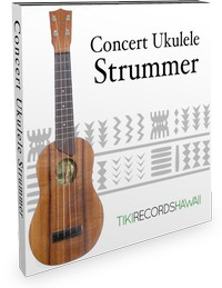 Tiki Records Hawaii Concert Ukulele Strummer
