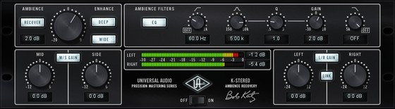 Universal Audio K-Stereo Ambience Recovery Plug-In