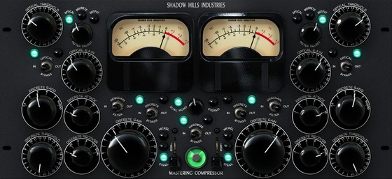 Universal Audio Shadow Hills Mastering Compressor Plug-In