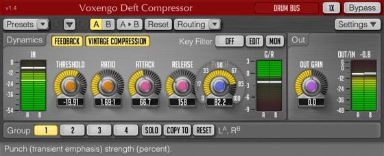 Voxengo Deft Compressor