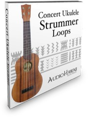 Audio Hawaii Concert Ukulele Strummer Apple Loops