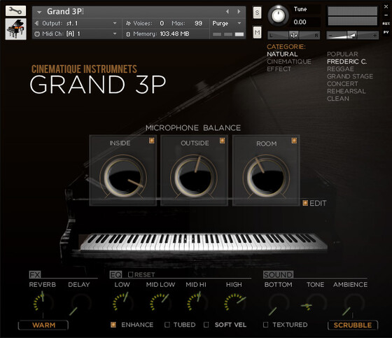 Cinematique Instruments Grand 3P