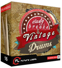 Future Loops Dusty Breaks & Vintage Drums