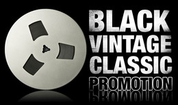 IK Multimedia Black Vintage Classic Promotion