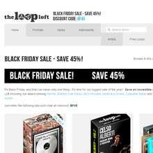 The Loop Loft Black Friday Sale
